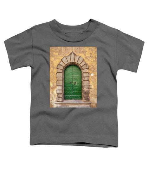 Door Six Of Cortona Toddler T-Shirt