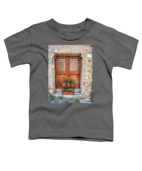 Door Thirteen Of Tuscany Toddler T-Shirt
