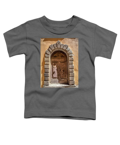 Door Thirty Two Of Tuscany Toddler T-Shirt