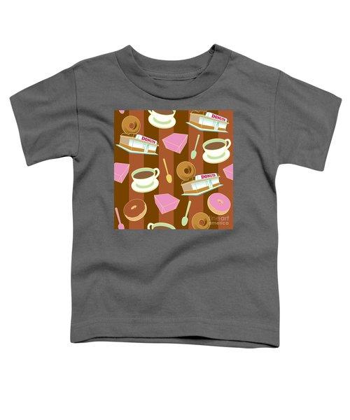 Doughnut_wallpaper_f2 Toddler T-Shirt