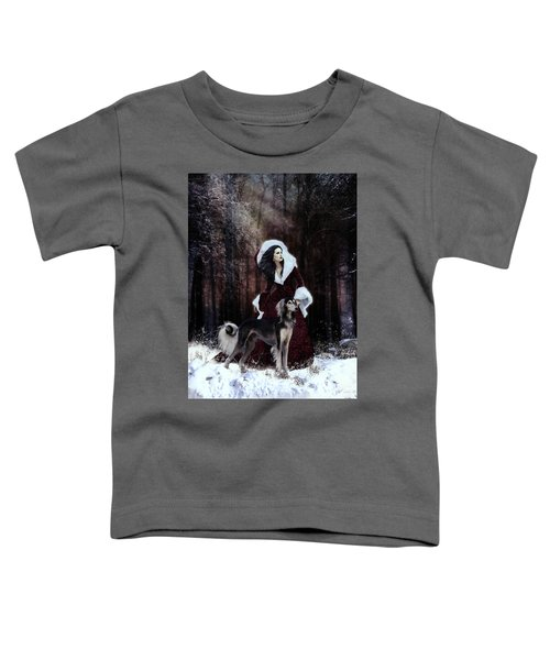 Drive The Cold Winter Away Toddler T-Shirt