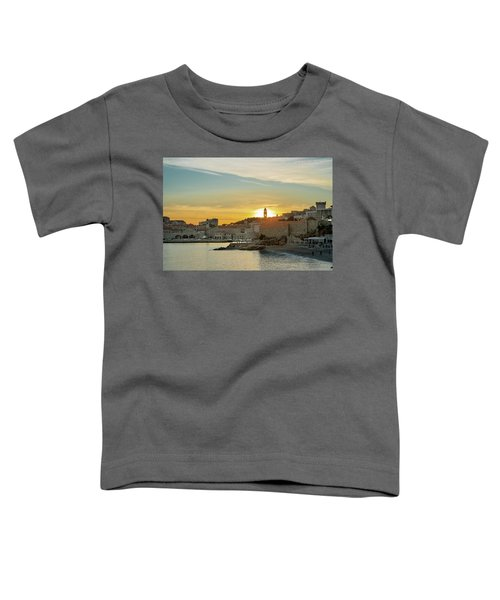 Dubrovnik Old Town At Sunset Toddler T-Shirt