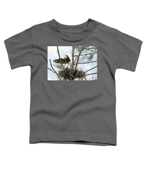 Eagle Landing Toddler T-Shirt