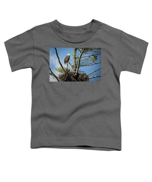 Eagle Portrait Toddler T-Shirt