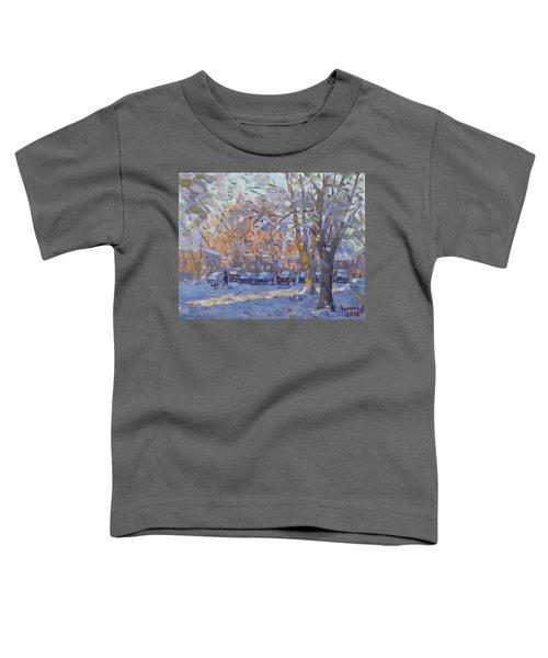 Early Morning Winter Scene Toddler T-Shirt