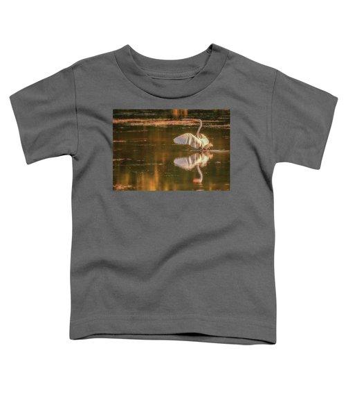 Egret Reflections 2 Toddler T-Shirt