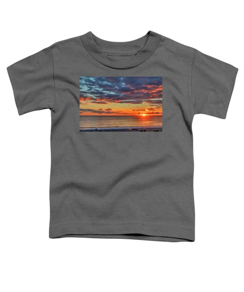 End Of Day Light Show Toddler T-Shirt