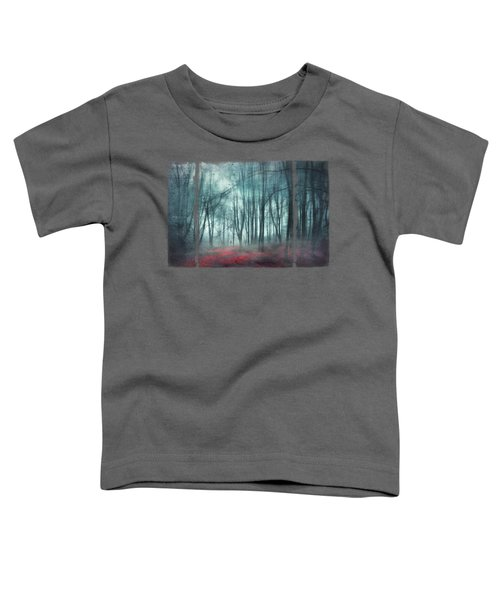 Escape Route - Misty Forest Scenery Toddler T-Shirt