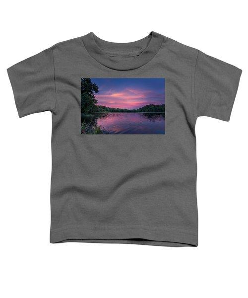 Evening At Springfield Lake Toddler T-Shirt