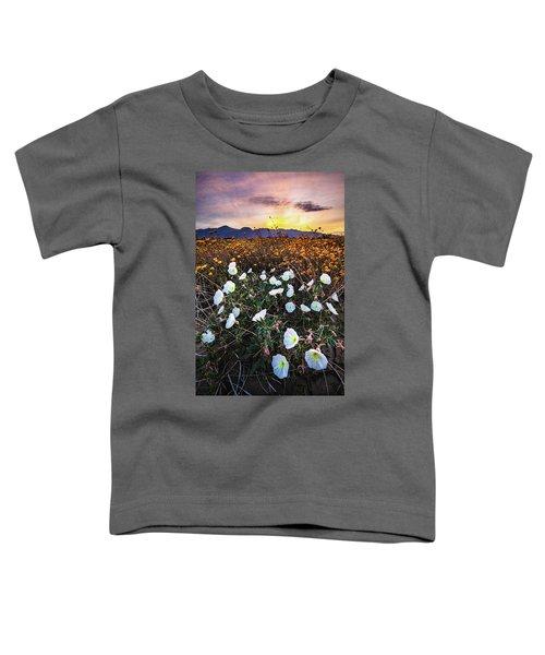 Evening With Primroses Toddler T-Shirt