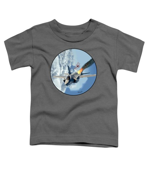 F-35 Vs The Red Baron Toddler T-Shirt