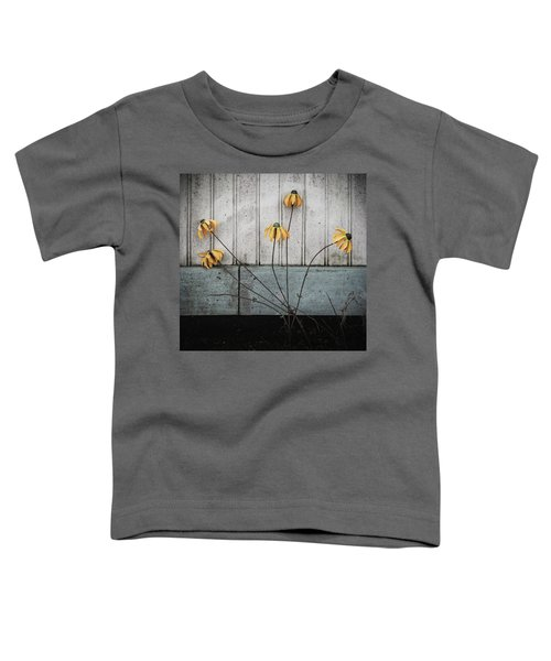 Fake Wilted Flowers Toddler T-Shirt