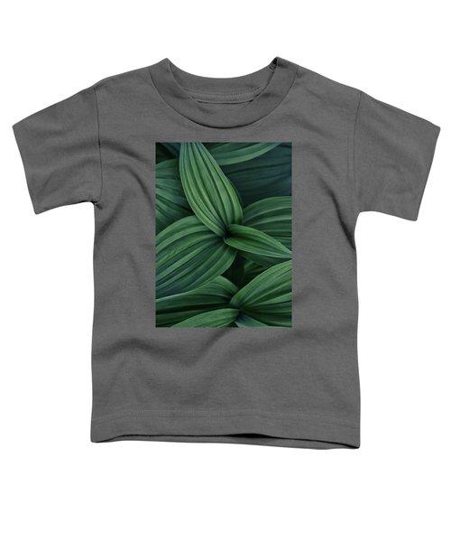 False Hellebore Plant Abstract Toddler T-Shirt