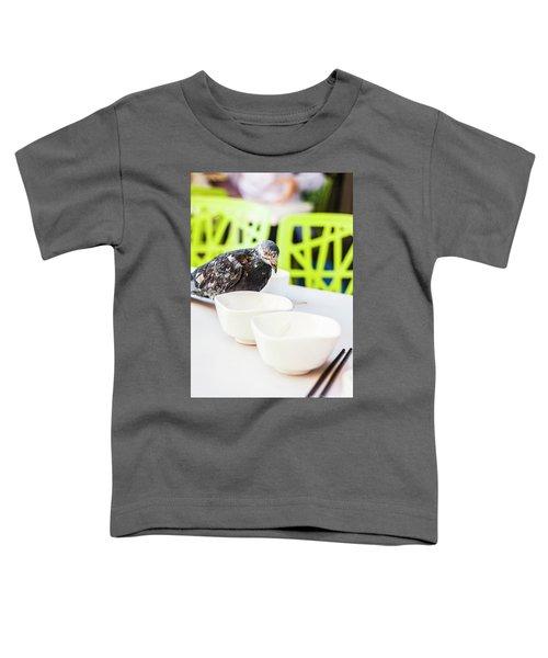 Fast Food Asian Pigeon Toddler T-Shirt
