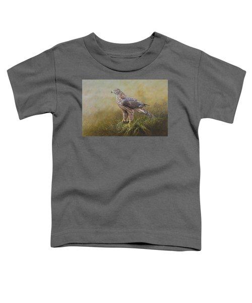 Female Goshawk Paintings Toddler T-Shirt