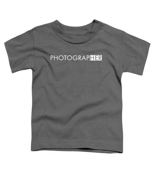 Female Photographer Toddler T-Shirt