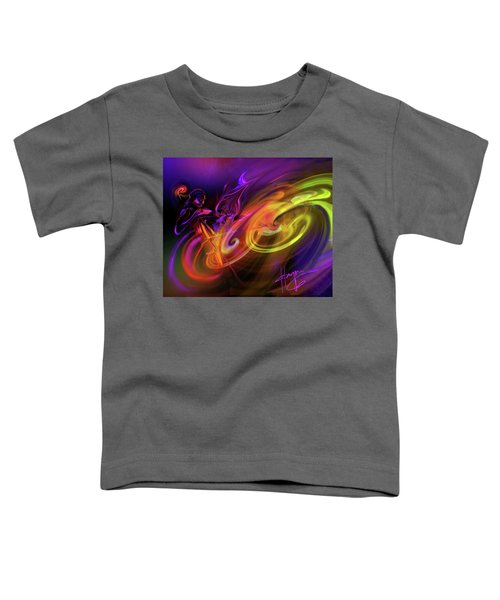 Cellist In Space Toddler T-Shirt