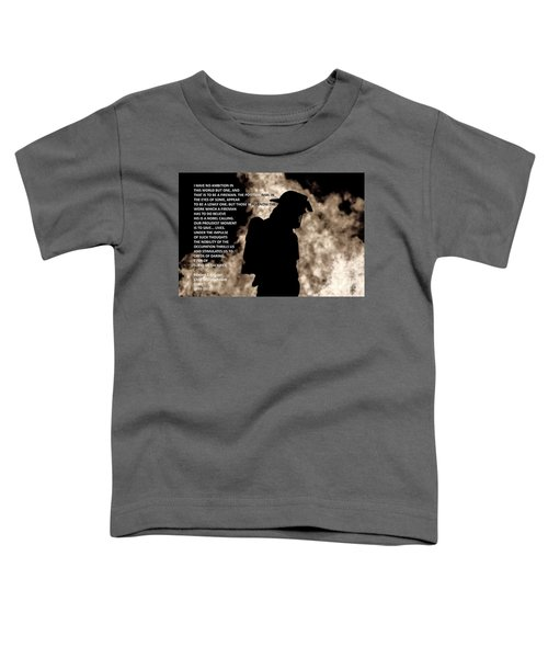 Firefighter Poem Toddler T-Shirt