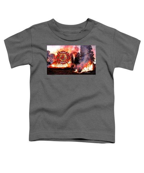 Firefighting 2 Toddler T-Shirt