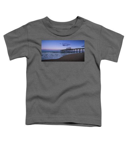 Fishing Pier Sunset Toddler T-Shirt