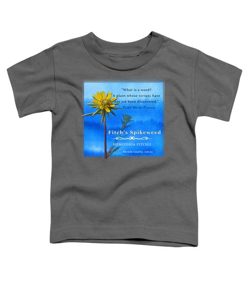 Fitch's Spikeweed Toddler T-Shirt