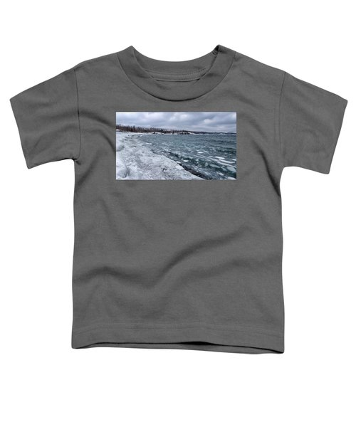 Floating Ice Toddler T-Shirt