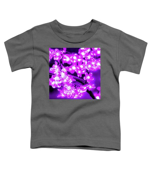 Flower Lights 2 Toddler T-Shirt