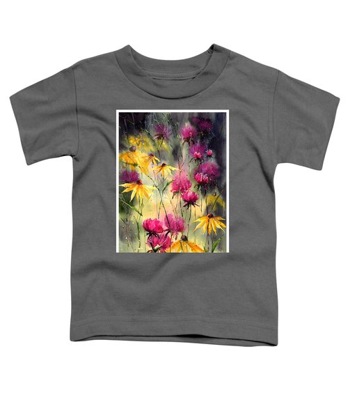 Flowers In The Rain Toddler T-Shirt