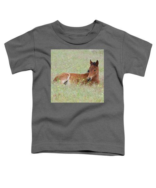 Foal In The Flowers Toddler T-Shirt