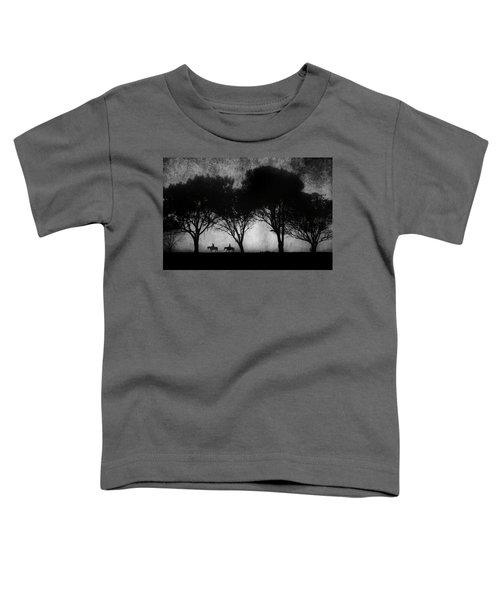 Foggy Morning Ride Toddler T-Shirt