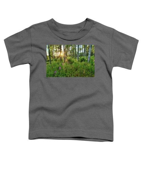 Forest Growth Alaska Toddler T-Shirt