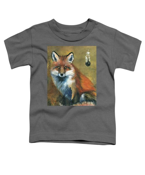 Fox Shows The Way Toddler T-Shirt