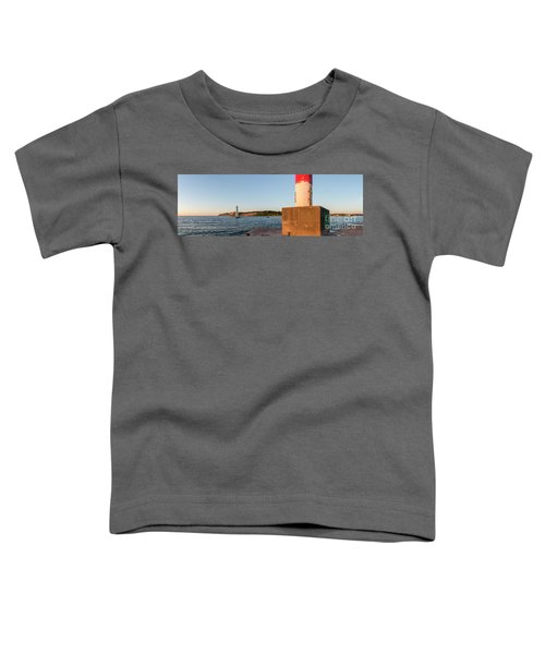 Frankfort North Breakwater Lighthouse And Light Station Toddler T-Shirt