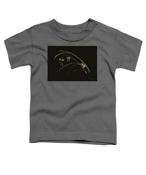 Frog And Orchid Toddler T-Shirt