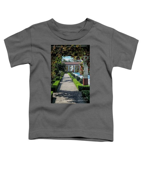 Getty Villa Pathway California  Toddler T-Shirt