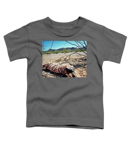 Gila Monster In The Arizona Sonoran Desert Toddler T-Shirt