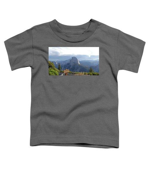 Glacier Point Toddler T-Shirt