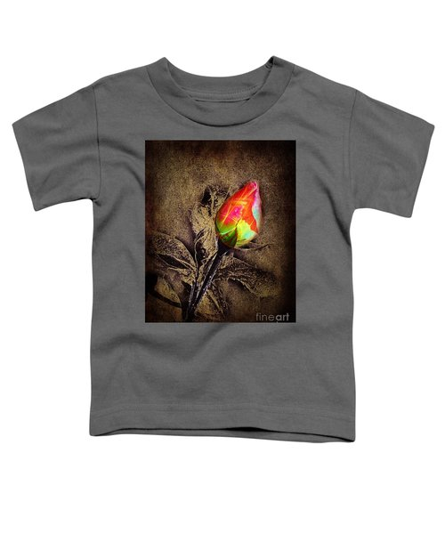 Glowing Rose Toddler T-Shirt