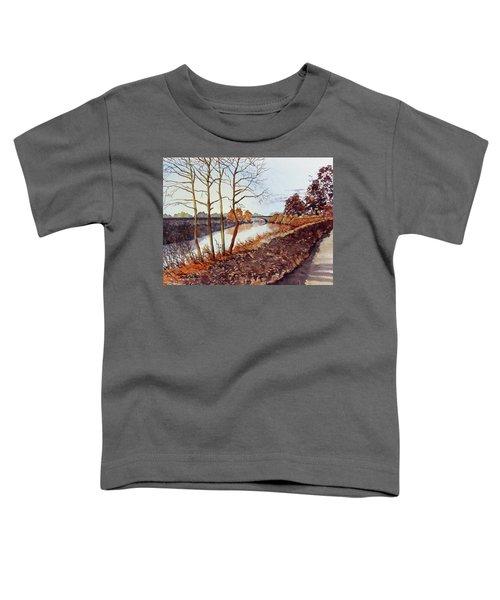 Golden Brown Toddler T-Shirt