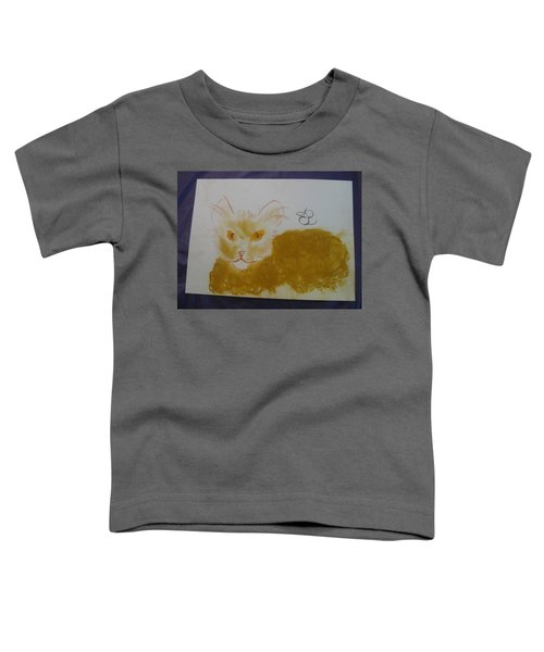 Golden Cat Toddler T-Shirt
