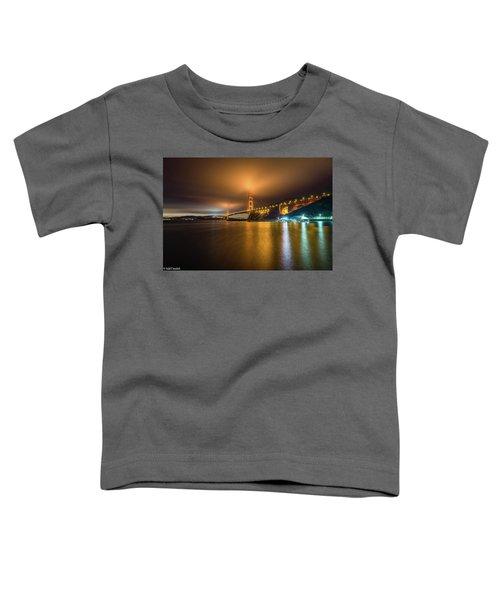Golden Gate Bridge Toddler T-Shirt