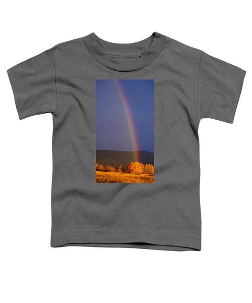 Golden Tree Rainbow Toddler T-Shirt