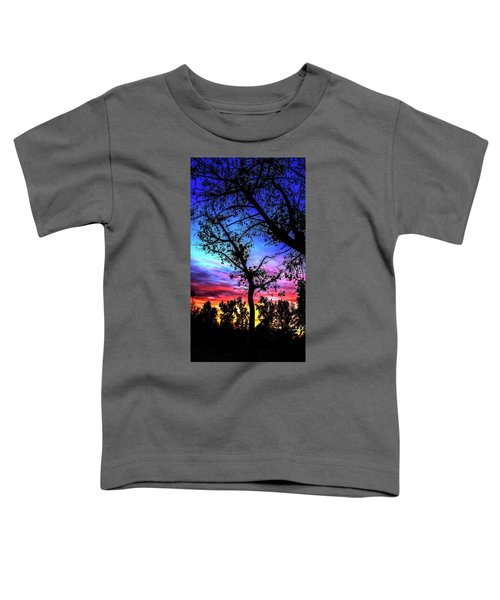 Good Night Leaves In Fall Toddler T-Shirt