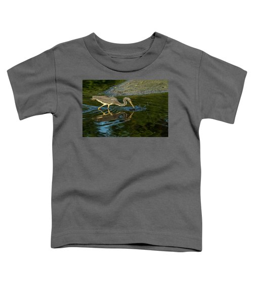 Toddler T-Shirt featuring the photograph Gotcha by Donald Brown