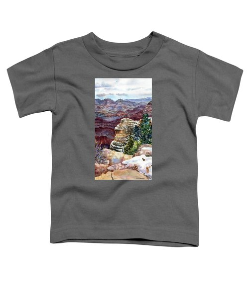 Grand Canyon Winter Day Toddler T-Shirt