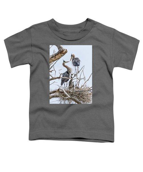 Great Blue Heron Rookery 4 Toddler T-Shirt