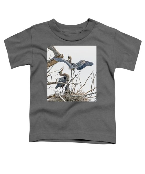 Great Blue Heron Rookery 5 Toddler T-Shirt