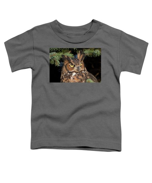 Great Horned Owl 10181802 Toddler T-Shirt