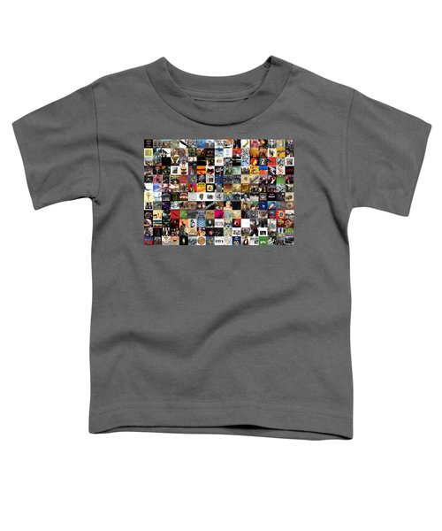 Greatest Rock Albums Of All Time Toddler T-Shirt