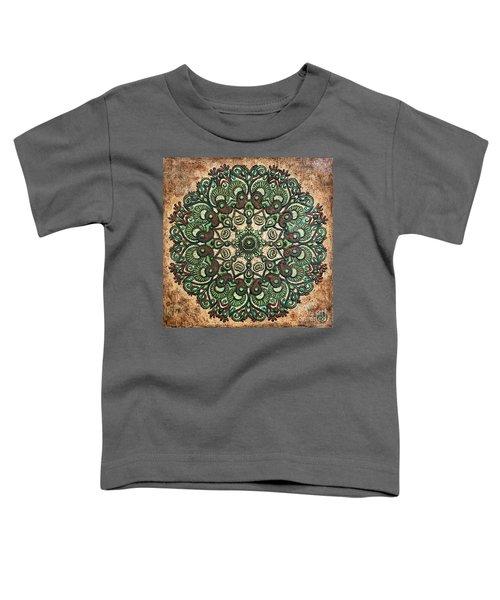 Green Mandala Toddler T-Shirt
